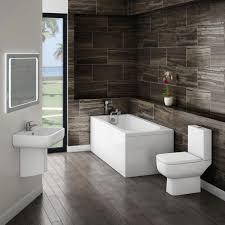 Small Modern Bathroom Suite At Victorian Plumbing UK - Designer bathroom suites