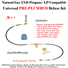 How To Make A Gas Fire Pit by Our Diy Gas Fire Pit Kits All Are Nat Gas Or Lp Compatible