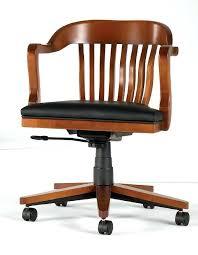 pour chaise de bureau chaise de bureau bois fauteuil de bureau de style en bois en cuir