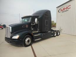 2014 kenworth for sale 2014 kenworth t660 conventional trucks in kansas for sale used