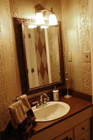 Powder Room Wall Ideas Evolution Of A Powder Room Removing Yet Another 70s Era Wallpaper