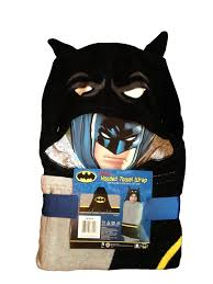 amazon com batman hooded towel wrap poncho 24