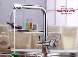 water faucets kitchen beautiful triflow kitchen faucet with osmosis systems