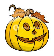 cute jack o u0027 lantern halloween vector illustration royalty free