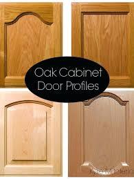 Kitchen Cabinet Door Profiles Upgrade Kitchen Cabinet Door Before And After Updating Kitchen