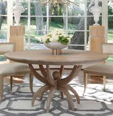 coastal dining room table atticus coastal beach white oak contemporary round dining table