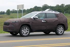 2017 Jeep Cherokee Spy Pics Wheels