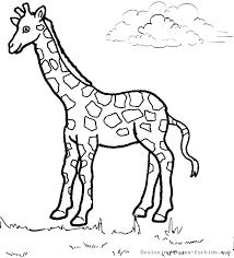 Giraffe Coloring Pages Giraffe Coloring Pages Archives Coloring Pages For Kids by Giraffe Coloring Pages