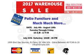 Patio Warehouse Sale Patio U0026 Outdoor Furniture Warehouse Sale Allsales Ca