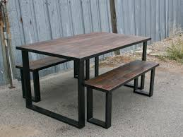 Wood Dining Table With Bench And Chairs Emmerson Dining Table Full Size Of Outdoor Furniture Bench