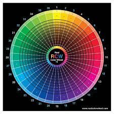 color wheel for makeup artists realcolourwheel htm description