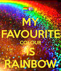 favourite colour my favourite colour is rainbow poster anna sweetsmile keep calm