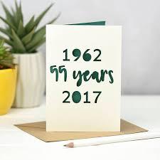 55th wedding anniversary emerald wedding anniversary card 55th wedding anniversary