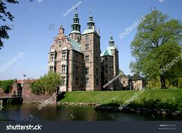 rosenborg castle small castle situated centre stock photo 3170791