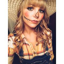 scarecrow makeup h o l i d a y s pinterest scarecrow makeup