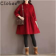 online get cheap peter pan collar red dress aliexpress com