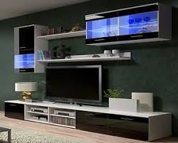 Modern Furniture Tv Stand by Tv Wall Units Tv Stand Tv Cabinets High Gloss Black White