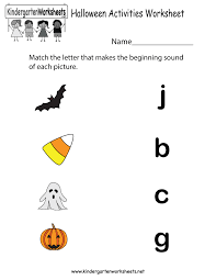 kindergarten halloween activity sheets u2013 fun christmas