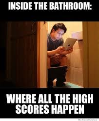 Bathroom Meme - bathroom high score weknowmemes