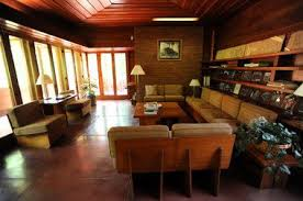 see inside the frank lloyd wright designed affleck house in