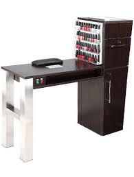manicure table with vent mobile salon manicure tables with vent and fan wooden manicure table