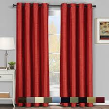 Blackout Curtain Panels With Grommets Pair Of Two Top Grommet Blackout Thermal Insulated Curtain Panels