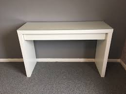 White Ikea Table White Ikea Dressing Table Glass Top With Draw And Chair In North