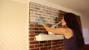 How To Clean Walls With Flat Paint by How To Whitewash Brick Youtube