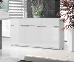 aspire white gloss wide sideboard storage unit u2013 furniture factor uk