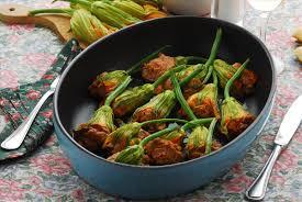 fiori di zucca in forno fiori di zucca al forno l idea per preparare e cucinare la