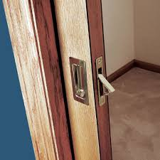How To Hang A Cabinet Door How To Install A Pocket Door Easily Sliding Pocket Door Plans
