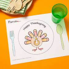 turkey placemats thanksgiving placemat coloring pages munchkins and