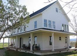 farmhouse plans spacious american folk farmhouse w large attic hq pics plans