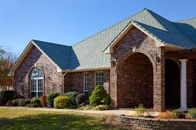 Color Forte Colorful Slate Tile by Selecting Roof Colors To Complement Brick Or Stone Exteriors