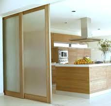 verre pour porte de cuisine porte coulissante en verre pour cuisine une porte verriare
