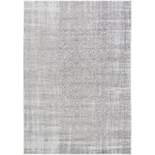Grey Round Rug Rugs Round Inviting Home Design