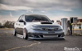 subaru wrx widebody narrowbody scoob stance daily