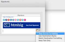 how do i add an email signature in outlook 2016 for mac u2013 htmlsig