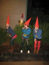 gnome costume what a idea for those on the shorter side