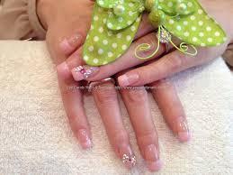 eye candy nails u0026 training full set of acrylic with gel polish