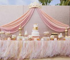 pink and gold cake table decor pink gold party table decor baptism planning pinterest pink