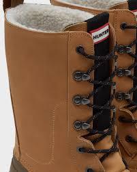 hunter men u0027s original insulated pac boot in brown for men lyst