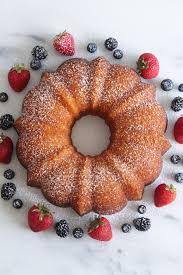 lemon bundt cake with summer berries always eat dessert