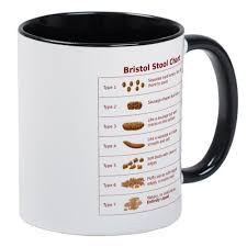 amazon com cafepress bristol stool chart mug unique coffee