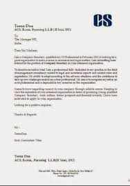 cover letter format creating executive samples example good for