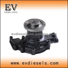 nissan sd22 water pump for forklift oem number nissan water pump