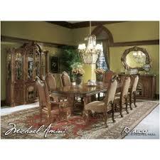 T Aico Furniture Rectangular Dining Table - Monte carlo dining room set