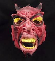 rubber halloween mask online buy wholesale halloween devil mask from china halloween