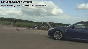 1080p lambo gallardo egear 500 hp vs bmw m5 touring supersprint