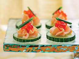 cuisine canapé smoked salmon mousse canapés recipe myrecipes